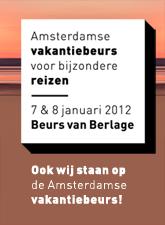 Amsterdamse vakantie beurs voor bijzondere reizen